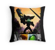 Ratchet & Clank - Strips Horizon Throw Pillow
