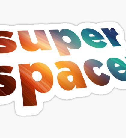 superspacer Sticker