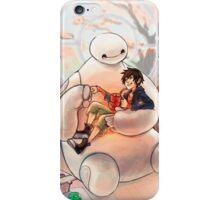 Warm, Baymax and Hiro iPhone Case/Skin