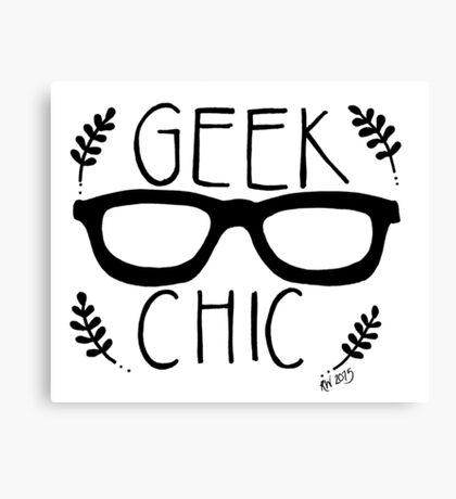 Geek Chic Canvas Print