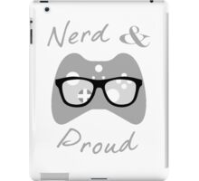 Nerd & Proud (light) iPad Case/Skin
