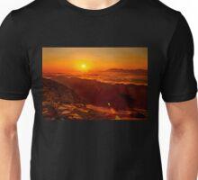 Crete above the clouds Unisex T-Shirt