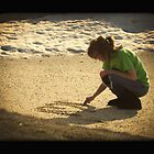 Drawing in the Sand by chels19noel