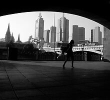 Melbourne City by stevenwells
