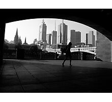 Melbourne City Photographic Print