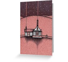 Gothic House Greeting Card