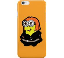 Minvengers - Yellow Widow iPhone Case/Skin