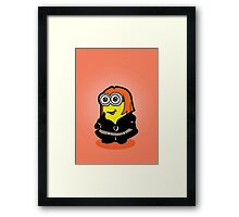 Minvengers - Yellow Widow Framed Print