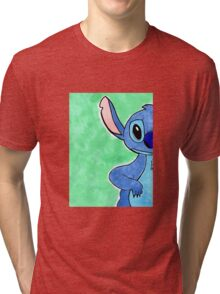 Stitch - Looking for his Ohana! Can You Help? Tri-blend T-Shirt