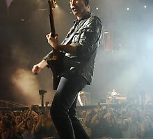 The Edge in Melbourne by Ron Hannah