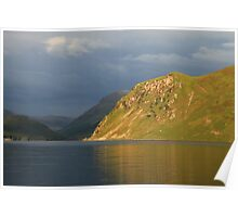 Anglers Crag, Ennerdale Water Poster