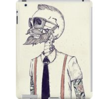The Gentleman becomes a Hipster iPad Case/Skin