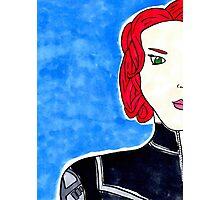 Natasha Romanov as Black Widow Photographic Print