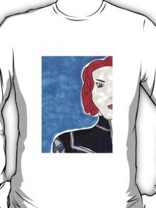 Natasha Romanov as Black Widow T-Shirt
