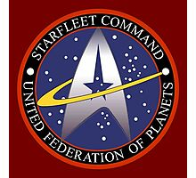 Starfleet Command Photographic Print