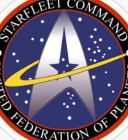 Starfleet Command Sticker