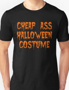 Cheap Ass Halloween Costume T-shirt for Adults