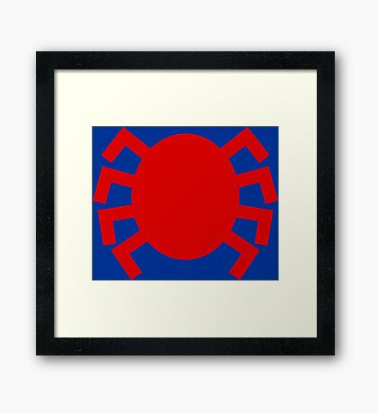 Classic Tracer Framed Print