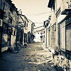 The secret road - The old street in Skopje by Nikola Penkov