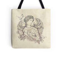 Lost in Heaven Tote Bag