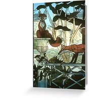 """""""A Hunt Country Garden"""" Greeting Card"""