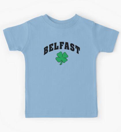 Belfast Irish Kids Tee