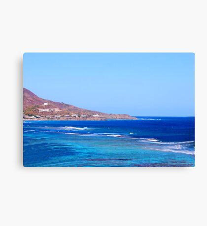 St. Croix East End Canvas Print