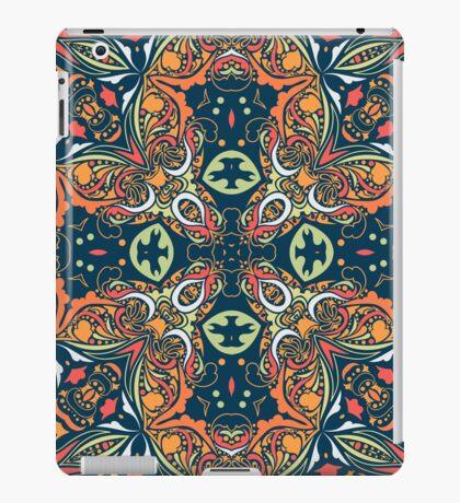 Ethnic mandala (Fire). iPad Case/Skin