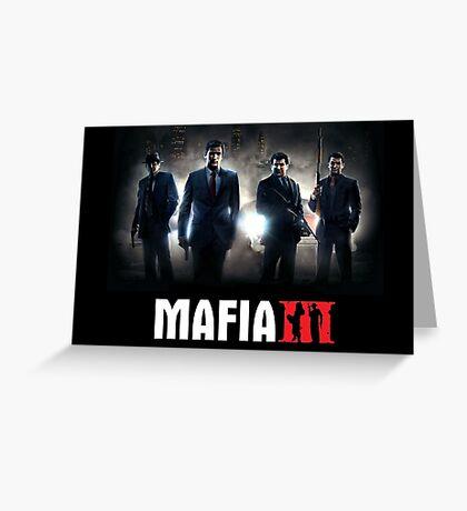 Mafia 3 Cover Greeting Card