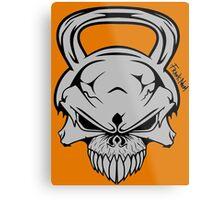 Skull Weight  Metal Print
