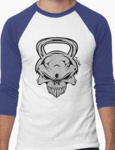 Skull Weight  Men's Baseball ¾ T-Shirt