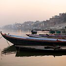 Varanasi II by David Reid