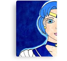 Sailor Mercury - Soldier of Water & Intellect Canvas Print