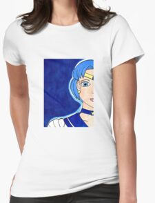 Sailor Mercury - Soldier of Water & Intellect Womens Fitted T-Shirt