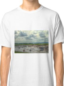 Moody Artistic Landscape in the Turner Style Classic T-Shirt