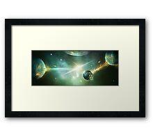 Time Sphere Framed Print