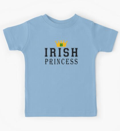 Irish Princess Kids Tee