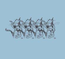 Here kitty kitty kitty kitty Kids Tee