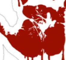 Bloody Hand print Sticker