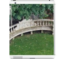 Greenery Bench iPad Case/Skin