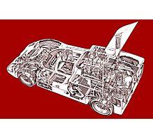 Chaparral Sports car. Photographic Print