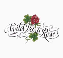 Wild Irish Rose Kids Tee