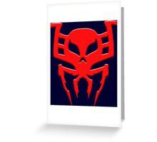 Spider-Man 2099 Greeting Card