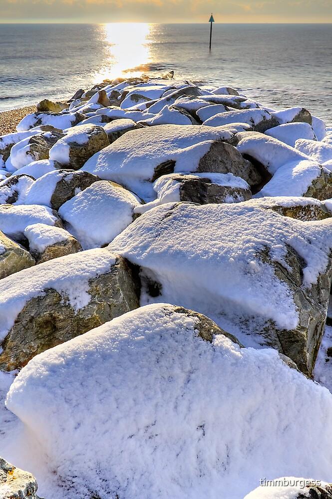 Sun Sea Snow by timmburgess