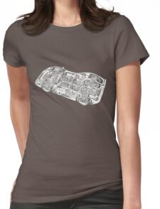Ford Sports car. Womens Fitted T-Shirt
