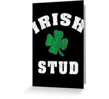Irish Stud Greeting Card