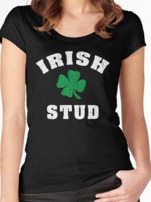Irish Stud Women's Fitted Scoop T-Shirt