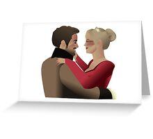 Charles & Leia Greeting Card
