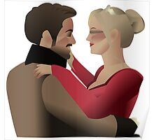 Charles & Leia Poster