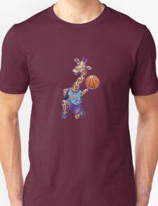 Wild Animal League Giraffe Basketball Star T-Shirt